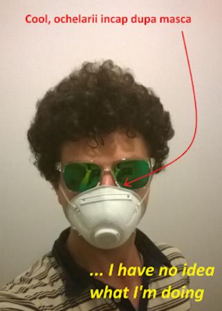 Masca filtru gresit